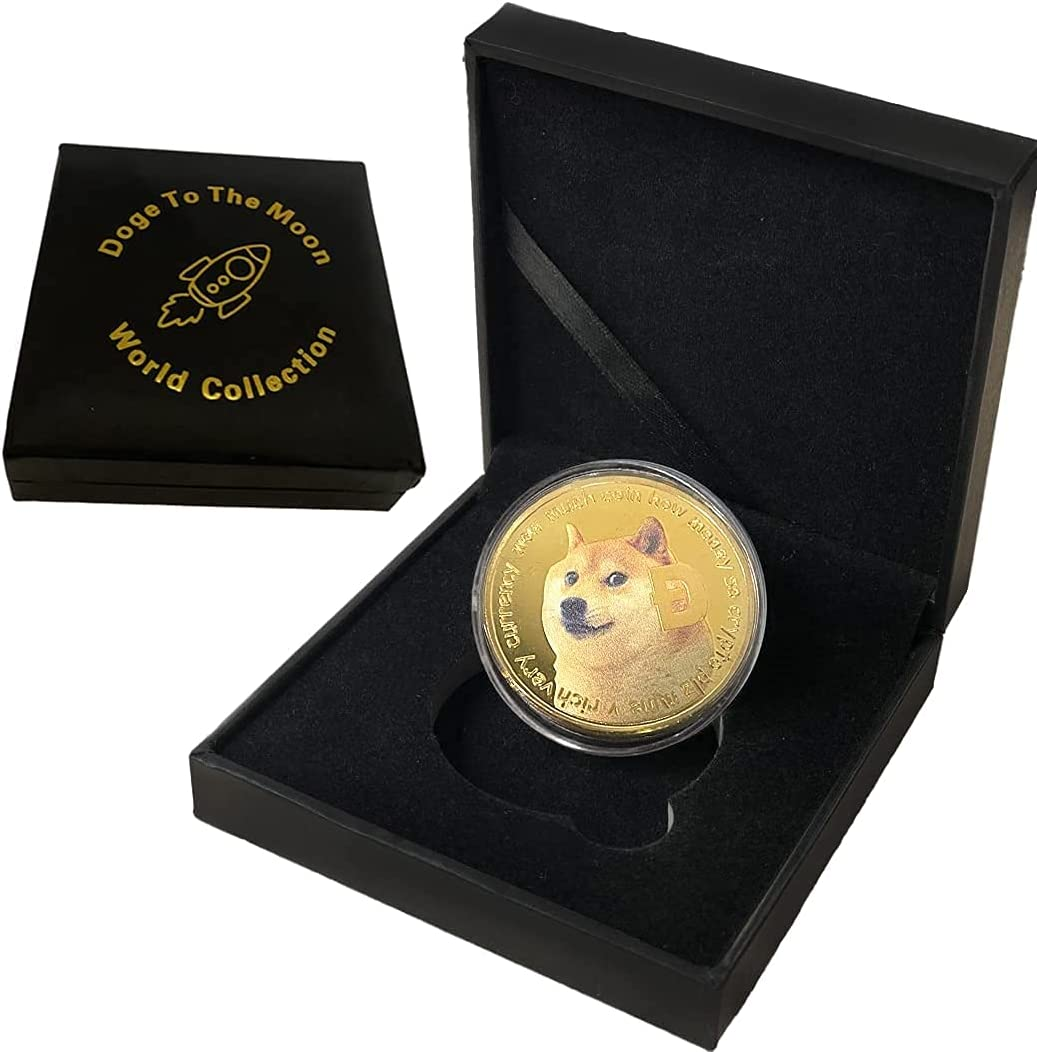 Dogecoin Coin Gold 2021 Fashion Collection Atlanta Mall Limi World