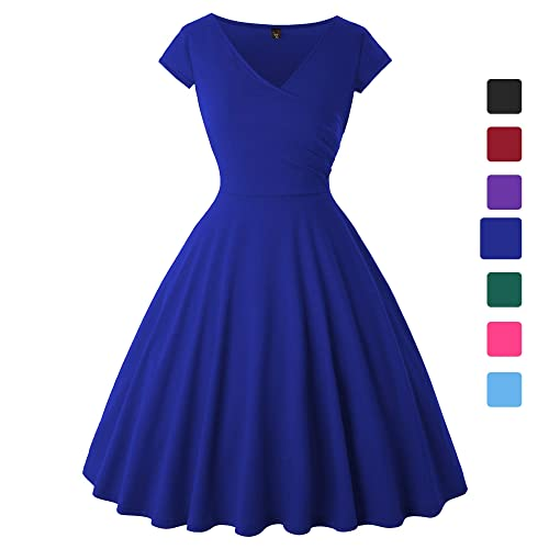 Plus Size Royal Blue Dress: Amazon.com