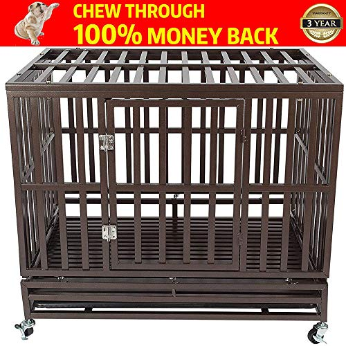 AIGE PET Your Pet Nanny Heavy Duty Dog Crate Cage Kennel