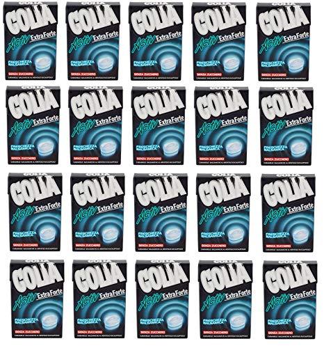 20x Perfetti Golia Activ Extra Forte Süßigkeiten frisch Geschmack Bonbon 49g