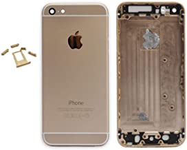 E&B Metal Back Housing Cover Replacement for iPhone 6S (Gold)