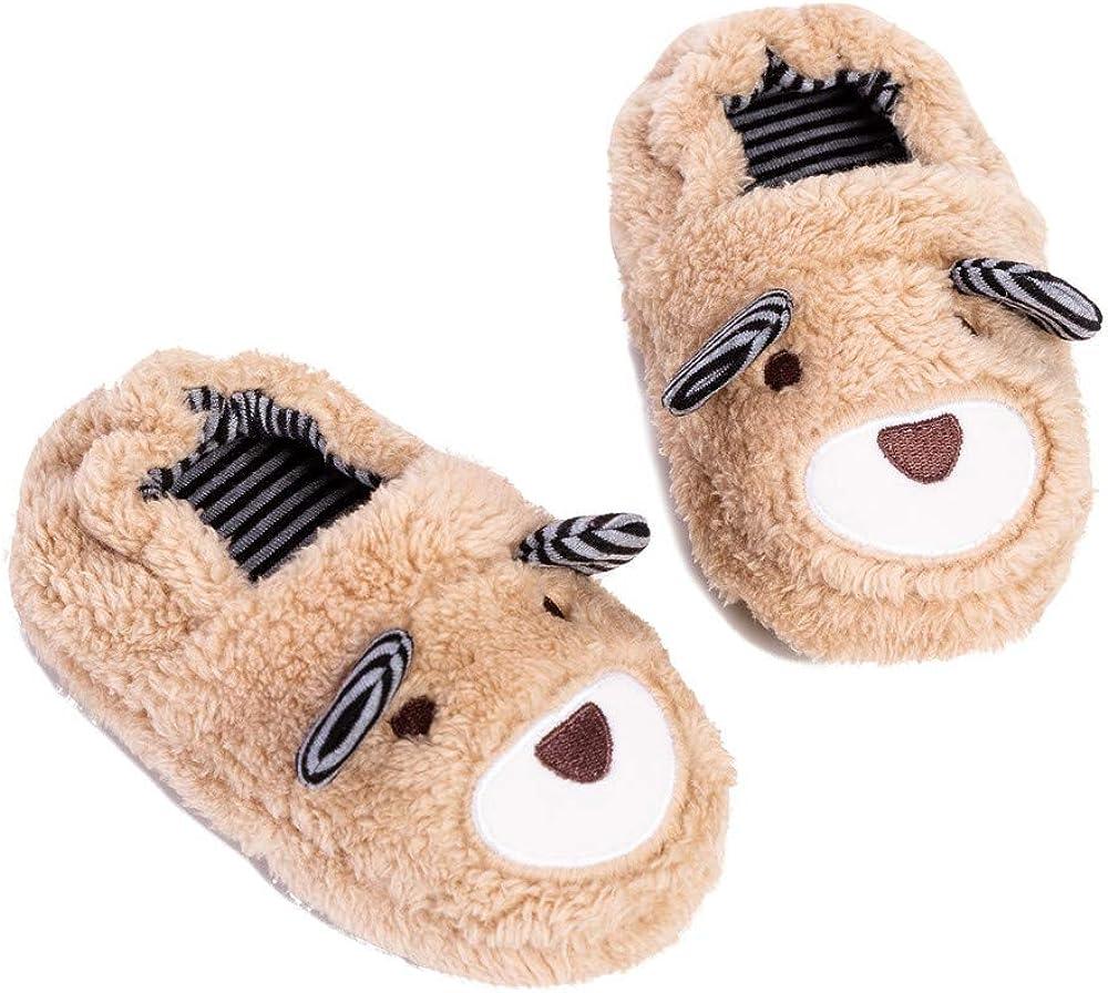 TSAITINTIN Toddler Boys Warm Slippers