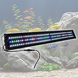 MegaBrand 45-50 Inch 156 LED Aquarium Lighting Fish Tank Light Fixture