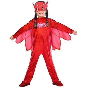 PJ Masks Disfraces, color rojo, 4-6 años (Bandai 24602): Amazon.es ...