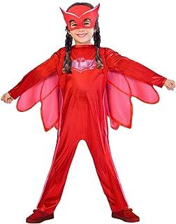 أزياء الأطفال بي جي ماسكس أوليت من أمسكان، 7-8 سنوات، أحمر