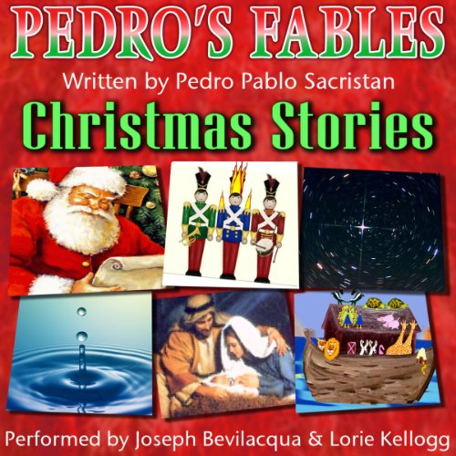 Pedro's Christmas Fables for Kids audiobook cover art