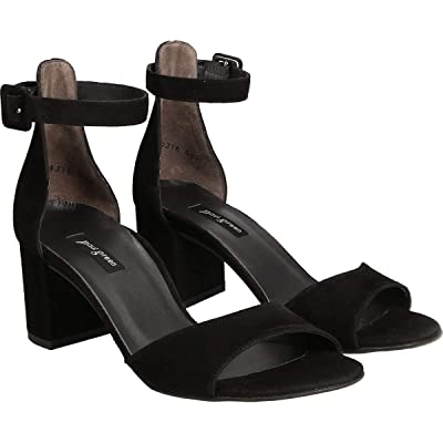 Paul Green Christy Sandal (Black Suede) Women