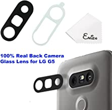EMiEN Rear Back Camera Glass Lens Cover Adhesive Replacement LG G5 H820 H830 H840 H848 H850 H860 VS987 LS992