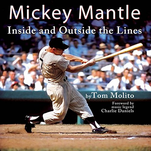 Mickey Mantle audiobook cover art
