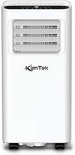 KlimTek Mobiles Kimagerät mit Abluftschlauch, 3 in 1 Mobiles Klimagerät mit Kühlen, Ventilator & Entfeuchter-7.000 BTU/h, für Räume bis 60 m3 25 m2 Energieklasse A