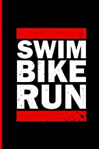 Triathlon Training Notebook: Swim Bike Run. A journal for Triathletes. Training Log Notebook. 6 x 9. 200 lined pages.