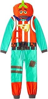 Fortnite Youth Unisex Zippered Tomato Head Union Suit Costume
