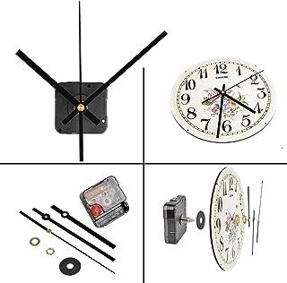 comprar comparacion QLOUNI Movimiento de Reloj de Cuarzo DIY de Silencio con 2/5 Pulgadas(10 mm) de Espesor de Esfera 4/5 pPulgadas (20 mm) de...