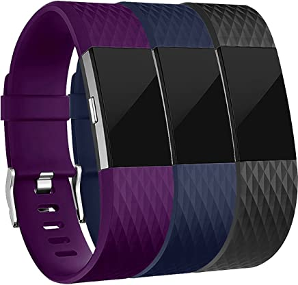 For Fitbit Charge 2 Bands, Maledan Replacement Accessory Wristbands for Fitbit Charge 2