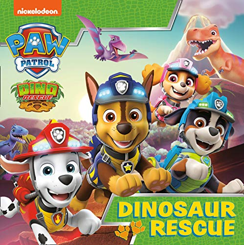 Paw Patrol Picture Book – Dinosaur Rescue: A Nickelodeon Series