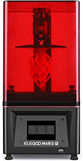 ELEGOO Mars Pro MSLA 3D Printer UV Photocuring LCD 3D Printer with Matrix UV LED Light Source, Built-in Activated Carbon,Off-Line Print 4.53in(L) x 2.56in(W) x 5.9in(H) Printing Size