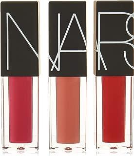 Nars Underground Velvet Lip Glide Set By Nars for Women - 3 X 0.12 Oz Lipstick Banshee, Vandal, Camden Girls, 3count