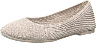 Women's Casey-Engineered Textured Knit Skimmer Ballet Flat