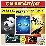 Broadway Playbills Calendar 2020 Musicals Theater Wall Calendar with Over 100 Calendar Stickers