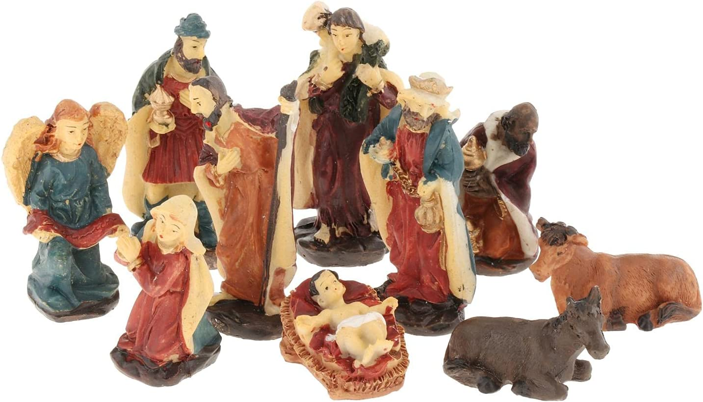 Colcolo Traditional Elegant Nativity Scene New product Rel Elegant Profile