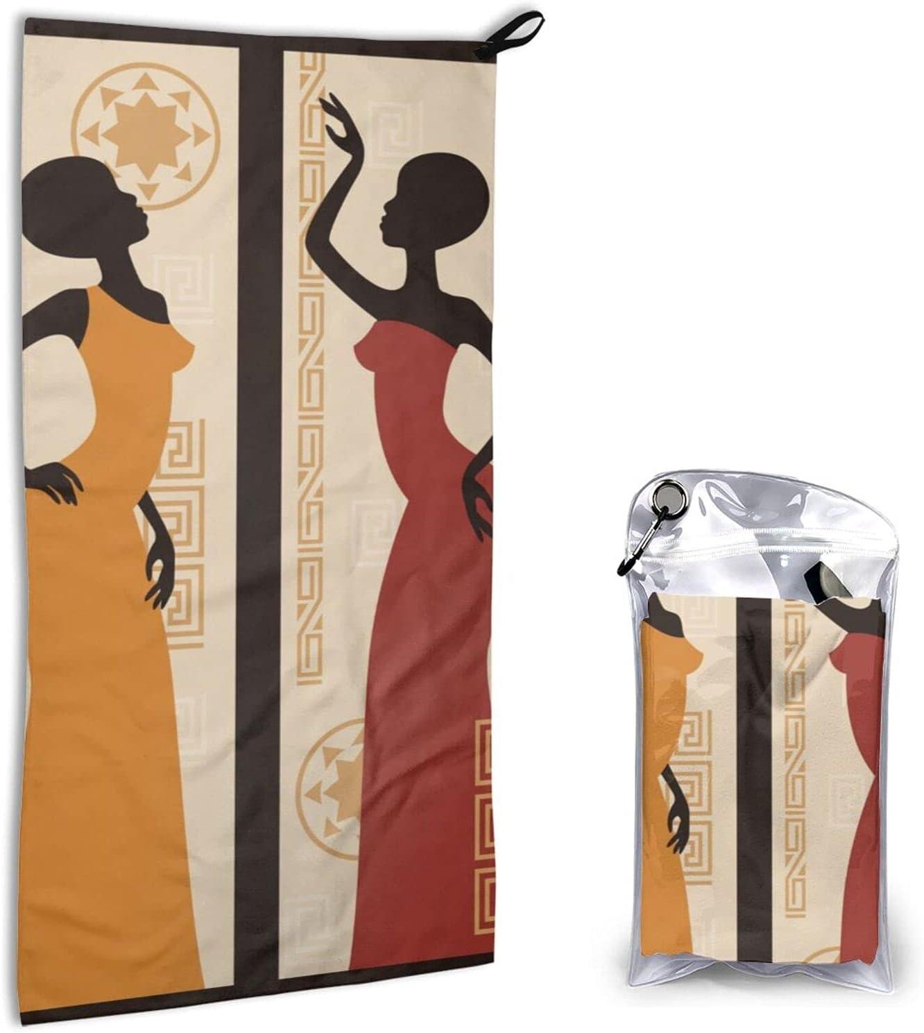 Jeezshop Quick Dry Microfiber Elegant A supreme Towel Girl Africa Super famous