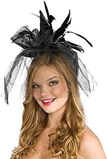 Black Mini Witch Hat - Adult Std.
