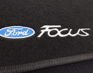 Kit Tapete Carpete Ford Focus 2014 Até 2018 Preto