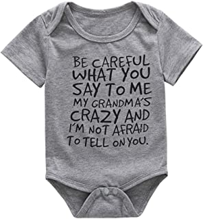 Summer Kids Baby Letter Romper Tops Toddler Short Sleeve T-Shirt Outfit Jumpsuit Print Clothes