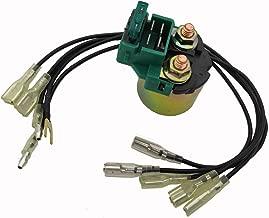Replace Starter Solenoid Relay for Honda GL1100 GL1200 Goldwing Interstate 1200 1984 1985 1986 1987/35850-MK3-671, 35850-MB0-007, 35850-MT8-003, 35850-MF5-751, 35850-KR0-007, 35850-425-017