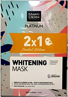 MARTIDERM PLATINUM WHITENING MASK 2X1 Edición Limitada  