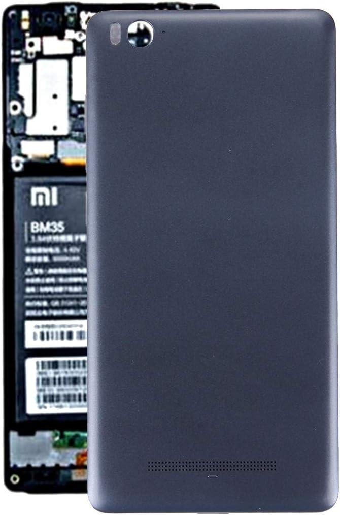 Accesorios para teléfonos móviles For LGMIN Xiaomi Mi 4c Volver Cubierta de la batería (Gris) (Color : Grey)