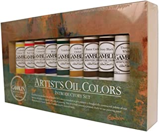 Gamblin Artist Oil Colors Introductory Set,Multi,37 ml