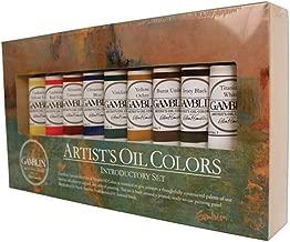 Gamblin Artist Oil Colors Introductory Set,Multi,37 ml