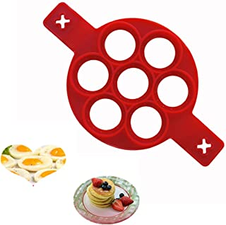 Egg Ring Nonstick Silicone Round Egg Rings Pancake Mold