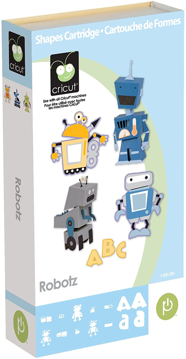 Cricut Robotz Shapes Cartridge