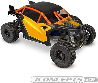 J Concepts Inc. T2 Truth 2 UTV Clear Body: SLH 2WD, SLH 4x4, JCO0353