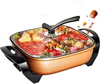 MOJBU Electric Hot Pot Home One Pot Multi-function Electric Cooker Frying Oven Non-stick Electric Cooker