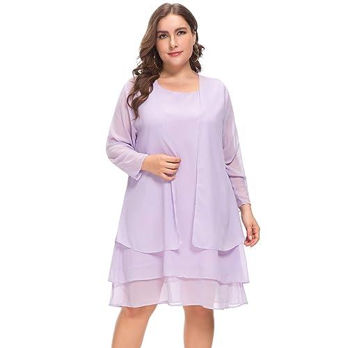 8b60e117df706 Women Plus Size Chiffon Mother of The Bride Jacket Suits Evening Casual  Dress 2 Pieces