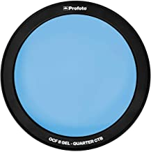 Profoto Off Camera Flash (OCF) II Gel, Quarter CTB