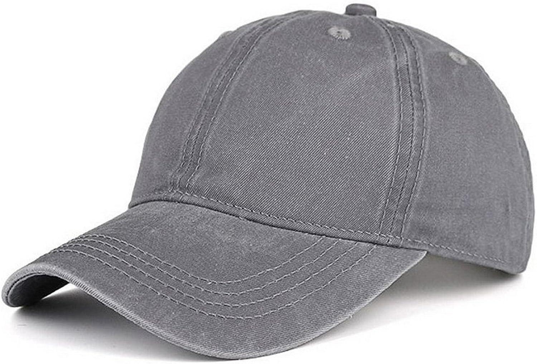 LIXYIT Unisex Stone Vintage Washed Cotton Dad Hat Adjustable Snapback Baseball Cap Wine