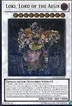 Yu-Gi-Oh! - Loki, Lord of the Aesir (STOR-EN039) - Storm of Ragnarok - Unlimited Edition - Ultimate Rare
