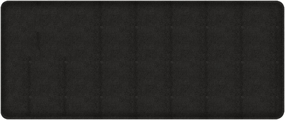 GelPro Shagreen gift Kitchen Mat 20 48-Inch Max 66% OFF Knight Black by