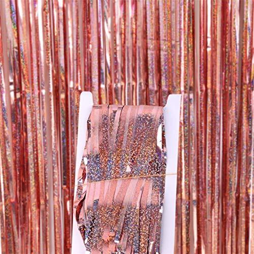 Just Contempo - Tende in alluminio cromato per feste di compleanno, matrimonio, M, L