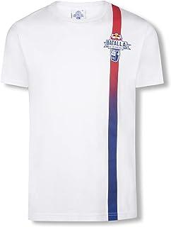 4cfb1574543c Red Bull Batalla Fading Camiseta, Blanco Hombre Top, Batalla de los Gallos Hip  Hop