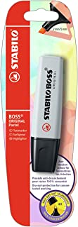 Evidenziatore - STABILO BOSS ORIGINAL Pastel - Pack da 1 - Grigio Polvere