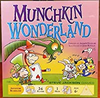 海外限定 不思議の国のアリス マンチキン ワンダーランド ボードゲーム Alice