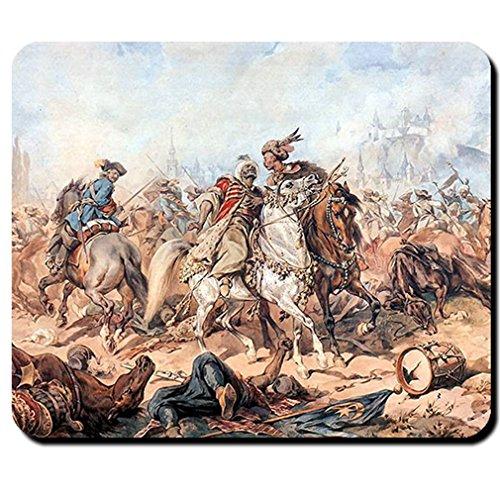 Batalla En párkány osmanisches Reich contra Antigua Roma Gemälde grande Türkischer Guerra–Ratón Mousepad Ordenador Laptop PC # 16214