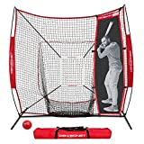 PowerNet Andrelton Simmons Stand-in Batter   Improve Pitching Accuracy for Baseball Softball   Safely Train Throwing Inside (7x7 Bundle W/Stand-in Batter & Strike Zone)
