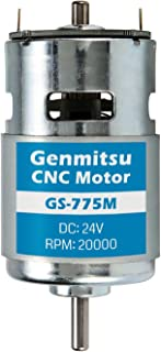 Genmitsu GS-775M 20000RPM 775 CNC Spindle Motor, DC 24V, High Power, Noise Suppression, Electrical DC Motor for 3018 CNC R...