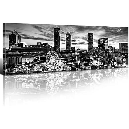 10x12Ft Vinyl Modern Backdrop for Photography,Atlanta City Skyline ...